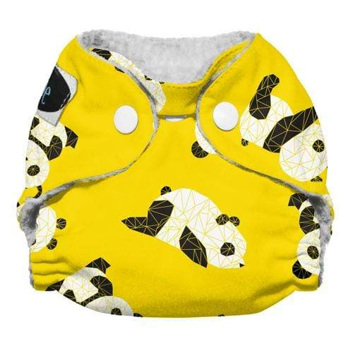 Imagine Newborn Snap Stay Dry All in One Diaper - Panda Fold Newborn