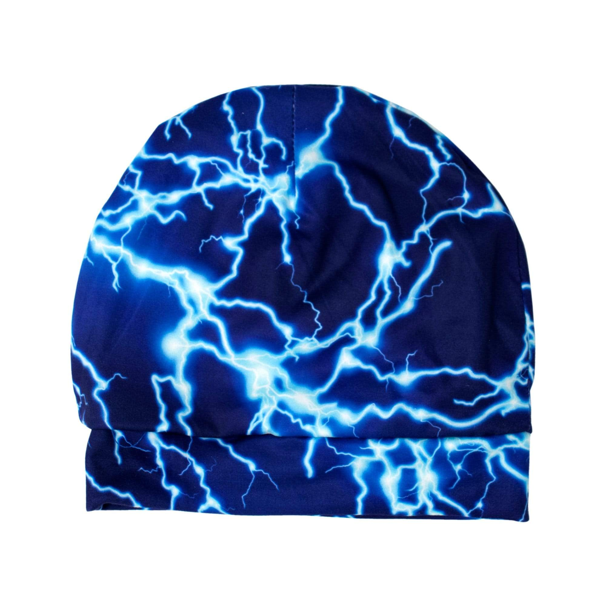 Imagine Newborn Stretchy Hat - Lightning Strikes