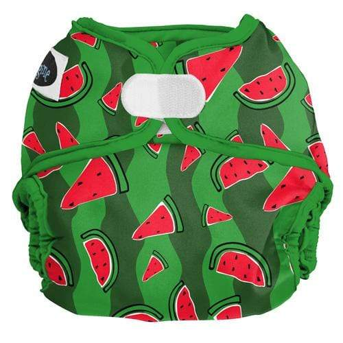 Imagine One Size Hook and Loop All in Two Diaper - Watermelon Patch