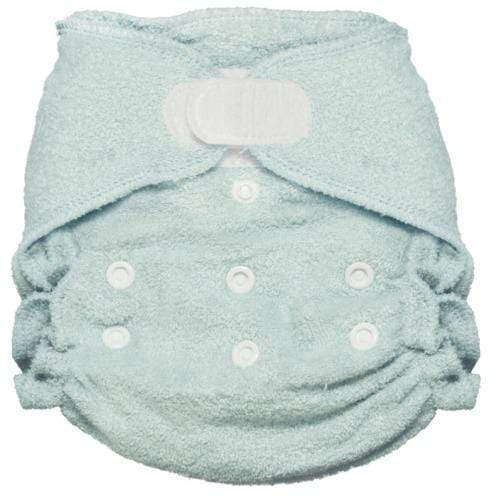 Imagine One Size Hook and Loop Bamboo Fitted Diaper - Indigo