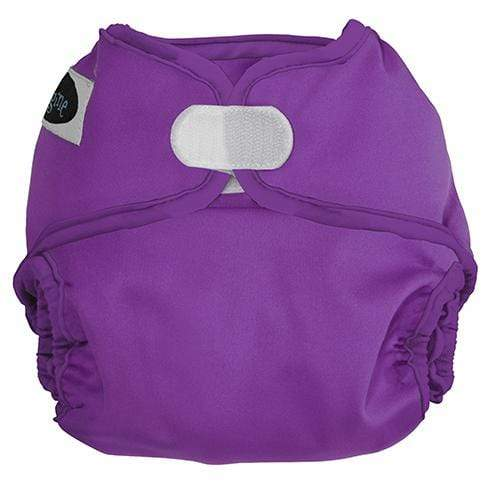 Imagine One Size Hook and Loop Diaper Cover - Amethyst