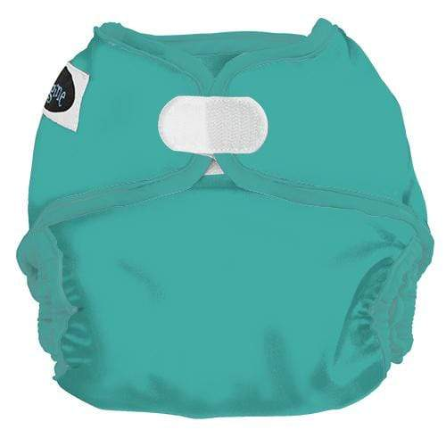 Imagine One Size Hook and Loop Diaper Cover - Aquamarine