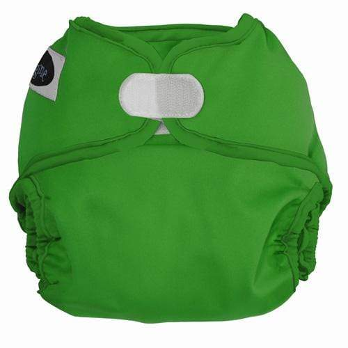 Imagine One Size Hook and Loop Diaper Cover - Emerald