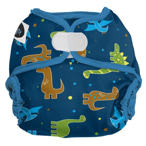Imagine One Size Hook and Loop Diaper Cover - Rawr