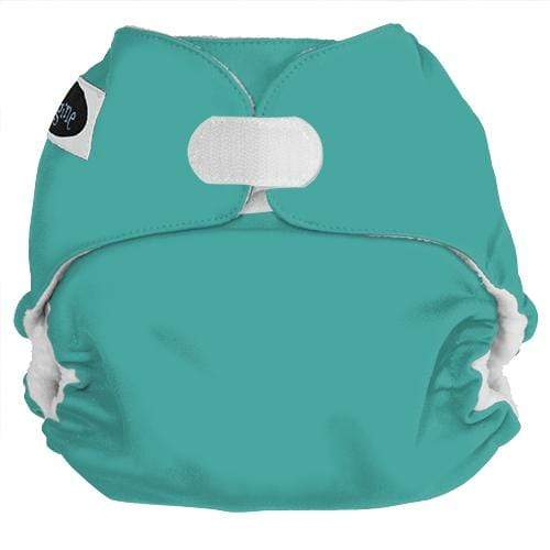 Imagine One Size Hook and Loop Pocket Diaper - Aquamarine