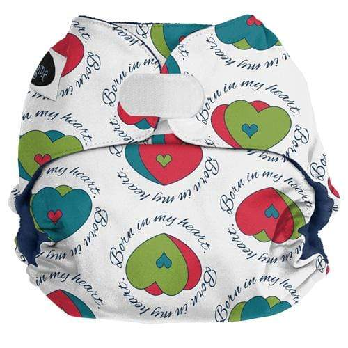 Imagine One Size Hook and Loop Pocket Diaper - In My Heart