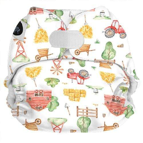 Imagine One Size Hook and Loop Pocket Diaper - Little Farmer