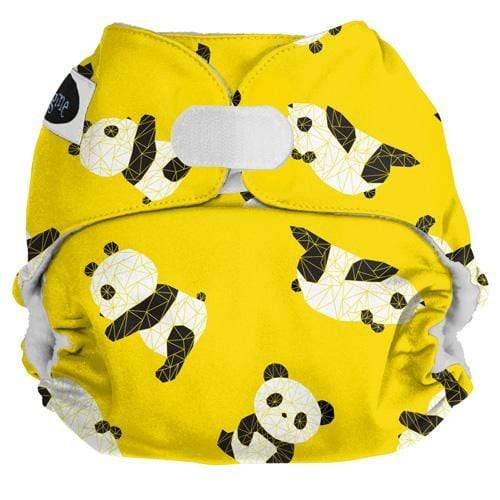Imagine One Size Hook and Loop Pocket Diaper - Panda Fold