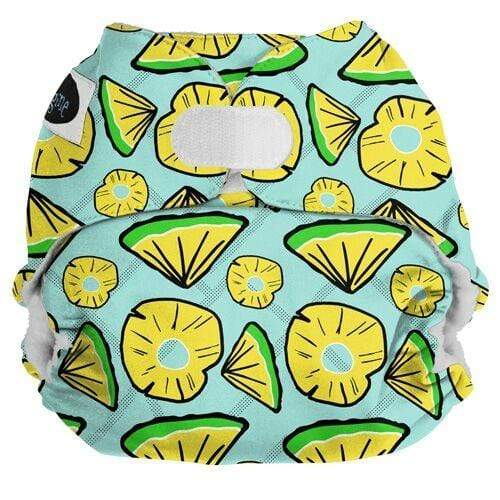 Imagine One Size Hook and Loop Pocket Diaper - Pineapple Pop