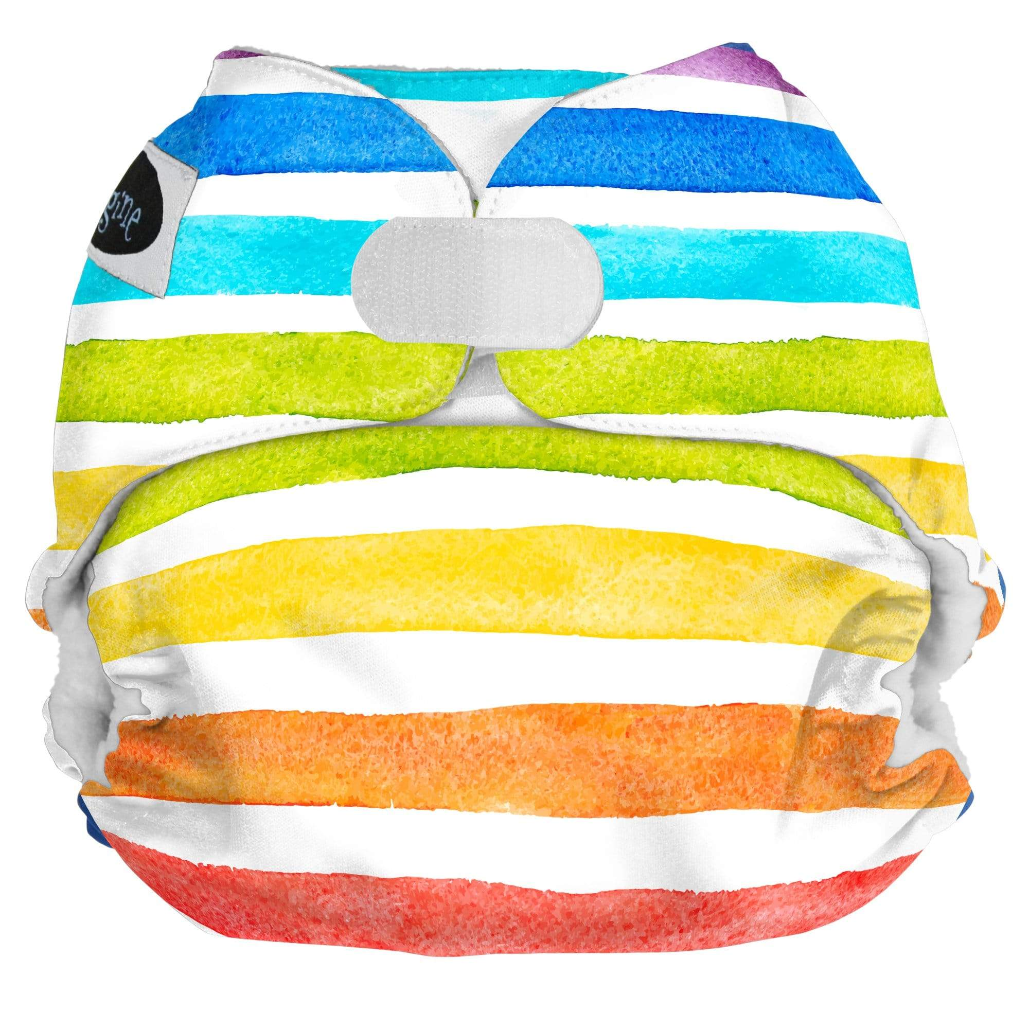 Imagine One Size Hook and Loop Pocket Diaper - Rainbow Connection