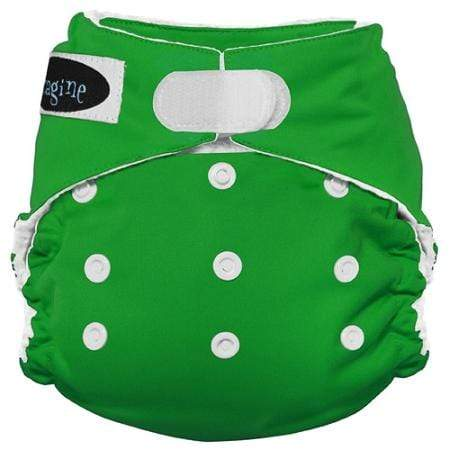 Imagine One Size Hook and Loop Stay Dry All in One Diaper - Emerald