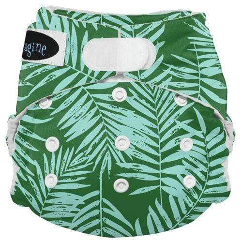Imagine One Size Hook and Loop Stay Dry All in One Diaper - Palm Beach