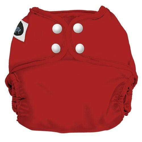 Imagine One Size Snap Diaper Cover - Fire Truck