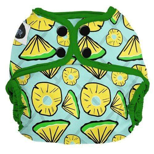 Imagine One Size Snap Diaper Cover - Pineapple Pop