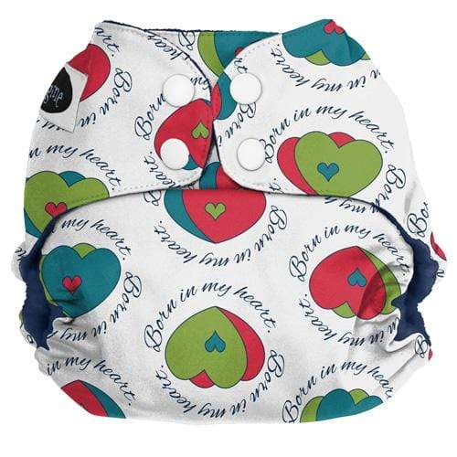 Imagine One Size Snap Pocket Diaper - In My Heart
