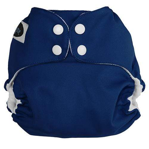 Imagine One Size Snap Pocket Diaper - Navy Fleet