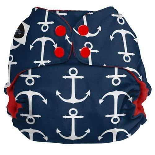 Imagine One Size Snap Pocket Diaper - Overboard