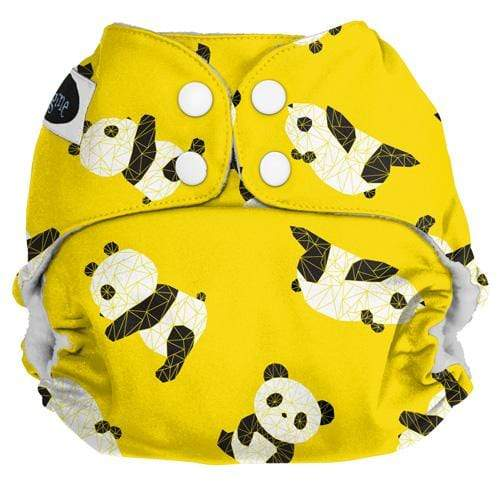 Imagine One Size Snap Pocket Diaper - Panda Fold