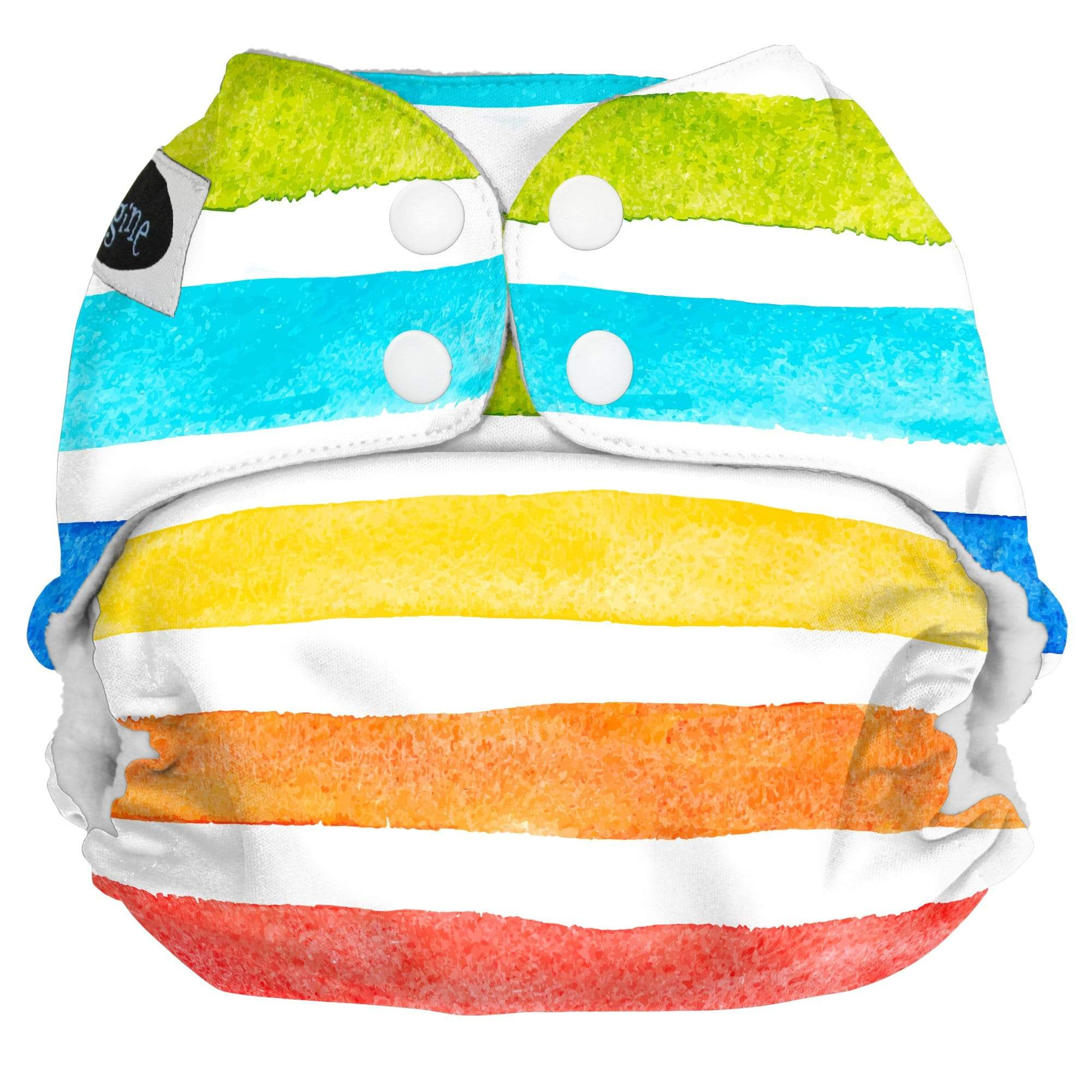 Imagine One Size Snap Pocket Diaper - Rainbow Connection