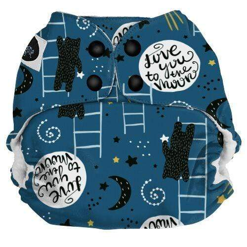 Imagine One Size Snap Pocket Diaper - To the Moon