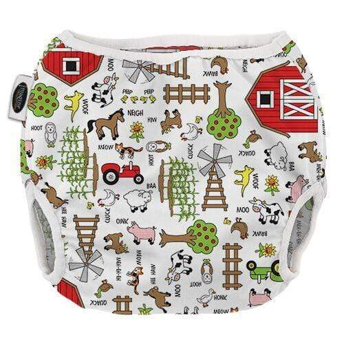 Imagine Pull On Diaper Cover - Barnyard Jam