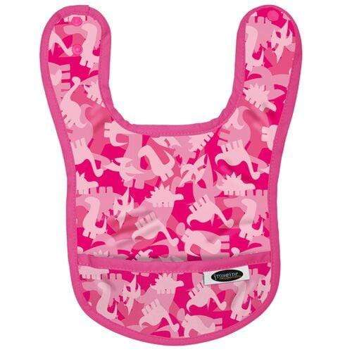 Imagine Waterproof Bib - Pink Camosaur