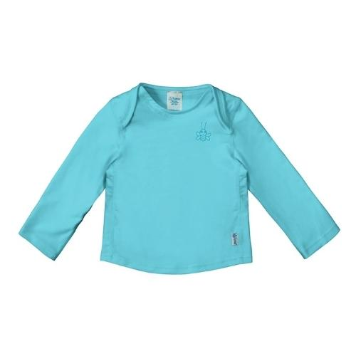 iPlay Easy-On Longsleeve Rashguard Shirt - Aqua