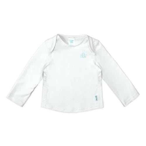 iPlay Easy-On Longsleeve Rashguard Shirt - White