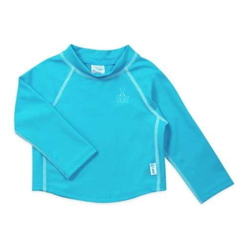 iPlay Long Sleeve Rashguard Shirt - Aqua