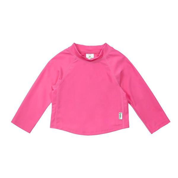iPlay Long Sleeve Rashguard Shirt - Hot Pink
