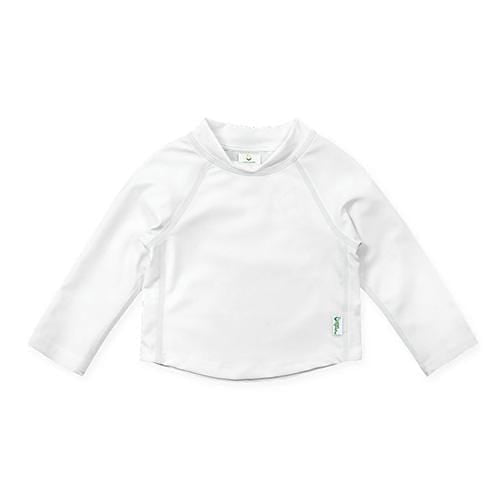 iPlay Long Sleeve Rashguard Shirt - White