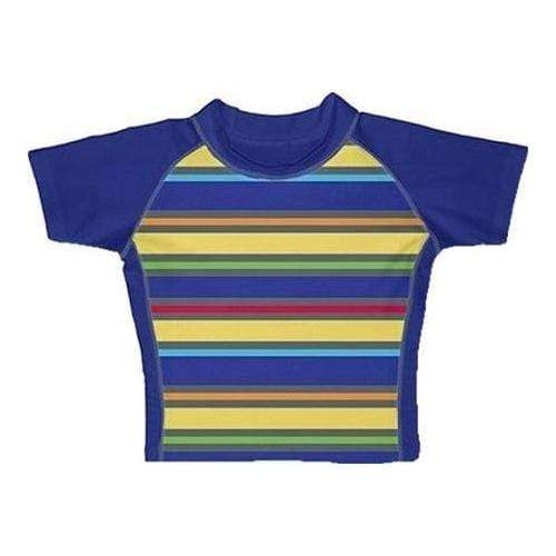 iPlay MM Rashguard Shirt - Royal Multistripe