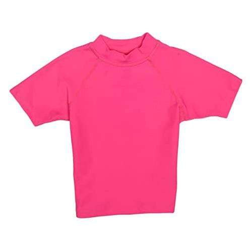 iPlay Rashguard Short Sleeve Shirt - Hot Pink