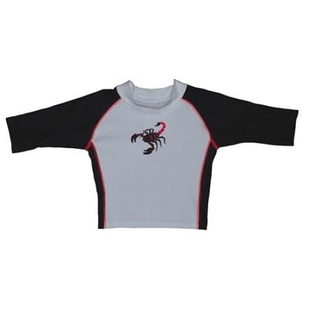 iPlay Three-Quarter Sleeve Rashguard Shirt - Red Scorpion