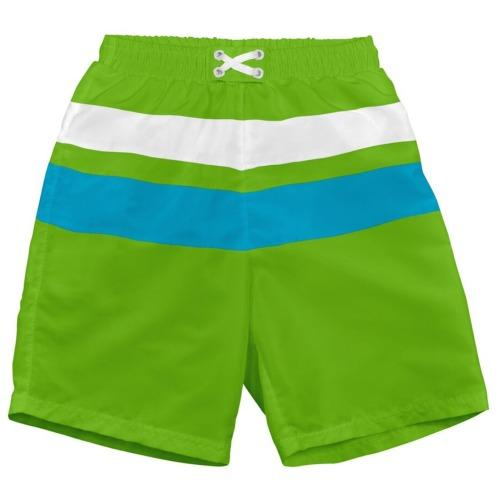iPlay Trunks - Lime/Aqua Block S