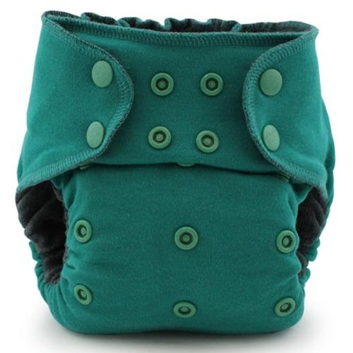 Kanga Care EcoPosh OBV One Size Fitted Pocket Diaper - Atlantis