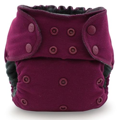 Kanga Care EcoPosh OBV One Size Fitted Pocket Diaper - Boysenberry