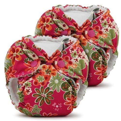 KangaCare Lil Joeys AIO Two Pack - Perky Perennials Newborn