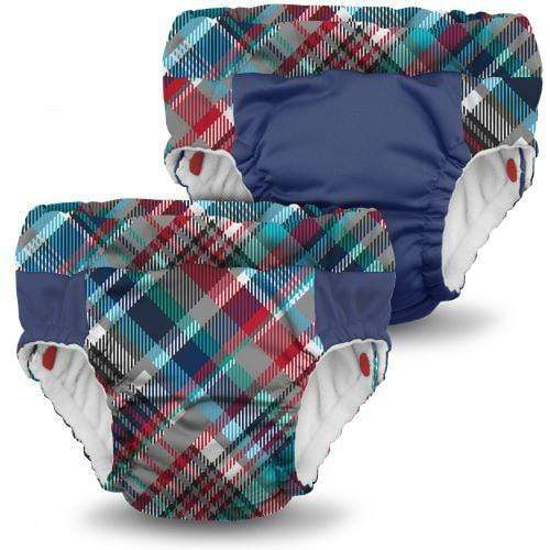 KangaCare Lil Learnerz Training Pant Two Pack - Billy and Nautical