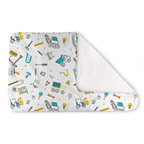 KangaCare Rumparooz Changing Pad - Nuts and Bolts