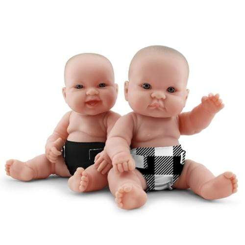 KangaCare Rumparooz Doll Diaper Set - Buffalo