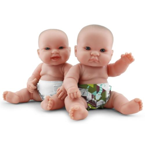 KangaCare Rumparooz Doll Diaper Set - Frolic and Fluff