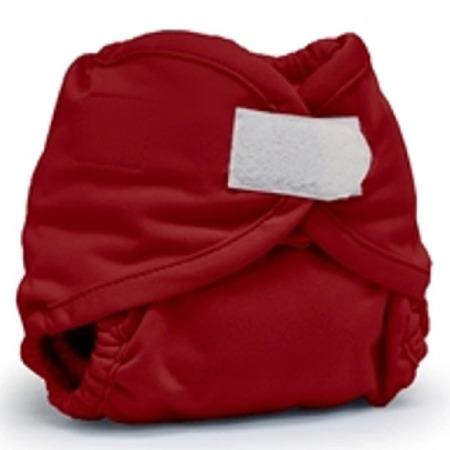 KangaCare Rumparooz Newborn Hook and Loop Cover - Scarlet Newborn