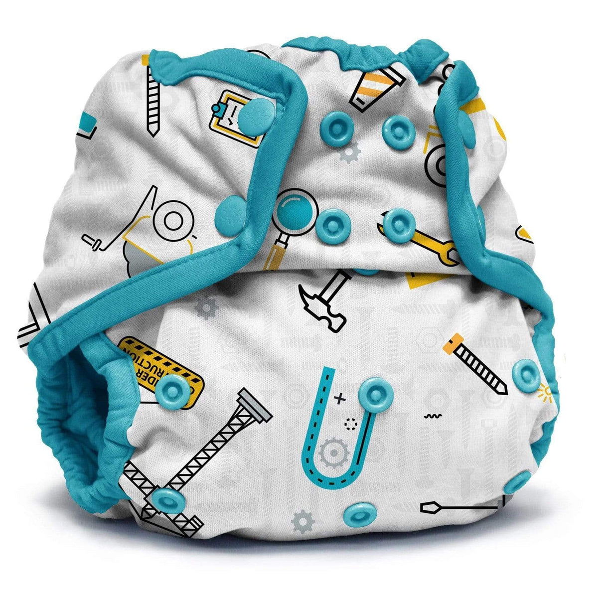 KangaCare Rumparooz Newborn Snap Cover - Nuts and Bolts
