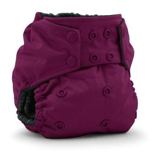 KangaCare Rumparooz One Size OBV Pocket Diaper - Boysenberry