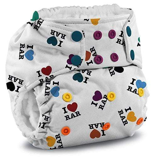KangaCare Rumparooz One Size Pocket Diaper - I LOVE Rar