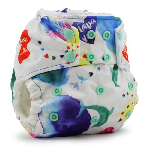 KangaCare Rumparooz One Size Pocket Diaper - Lava