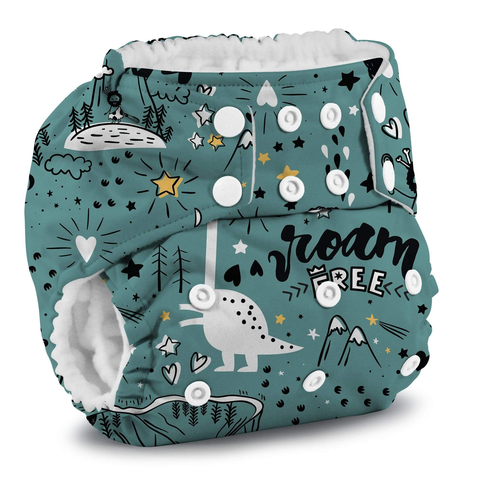 KangaCare Rumparooz One Size Pocket Diaper - Roam Free