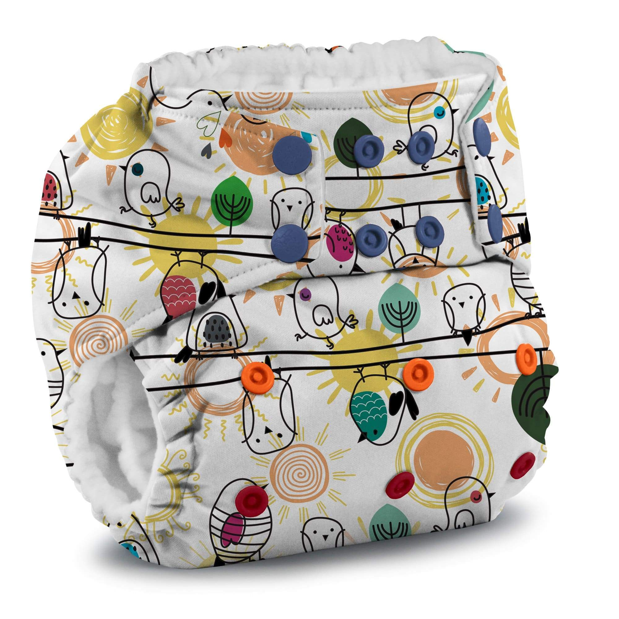 KangaCare Rumparooz One Size Pocket Diaper - Tweet