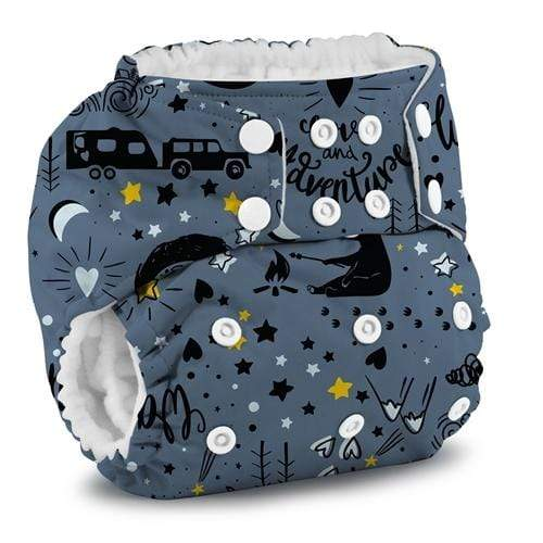 KangaCare Rumparooz One Size Pocket Diaper - Wander